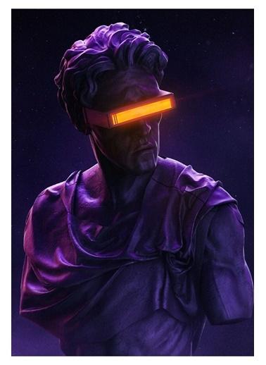 MarkaEv Canvas Xmen Cyclops Tablo 0056 Renkli